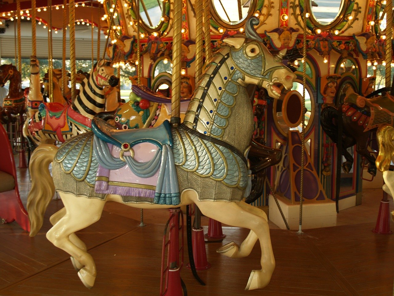 Stepping off the merry-go-round for reflection